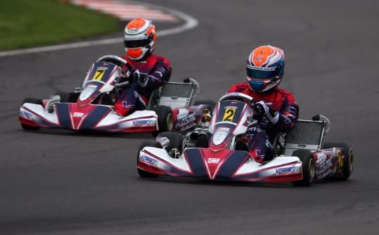 Kosmic Kart Racing Department stores the KZ World Championship in Wackersdorf