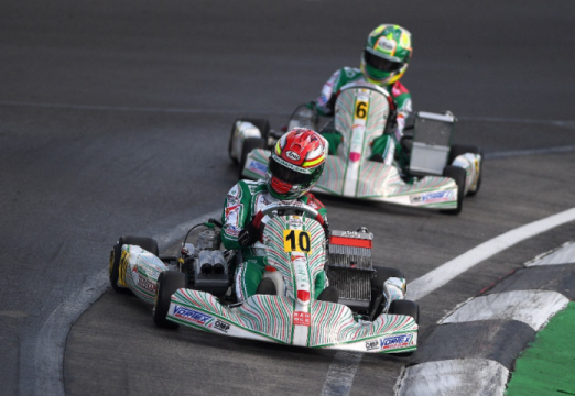 Tony Kart takes home a 2nd place at PFI