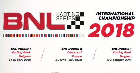 2018 BNL Karting Series calendar