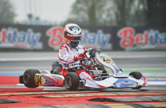WSK Final Cup provisional standings