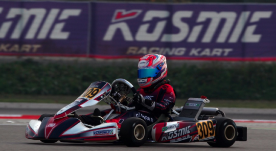Kosmic Kart looks forward to the next WSK FInal Cup round