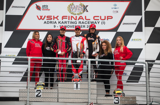 WSK Final Cup, Adria - 2nd round, November 12th 2017