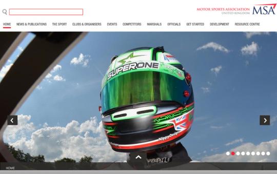 UK motor sport's governing body launches new website