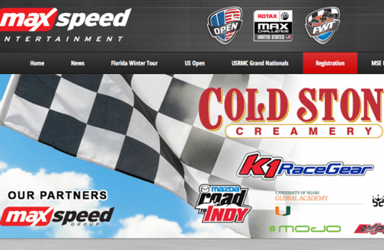 MaxSpeed Entertainment launches new website
