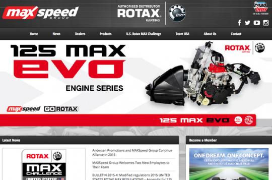 MaxSpeed launches new GoRotax.com website