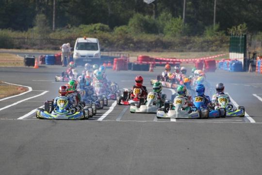 Rotax Max Euro Challenge, Salbris – Prefinals