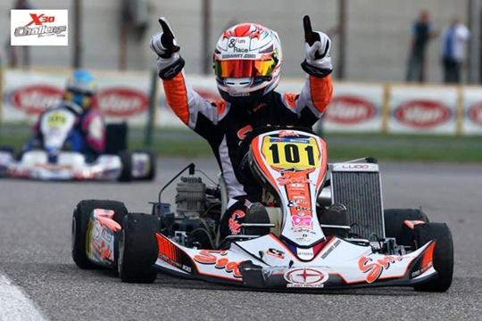 Vincent Fraïsse, X30 Europa champion with Sodi!
