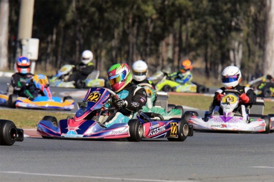 Stewart sisters head Kiwi entry at Aussie kart champs final