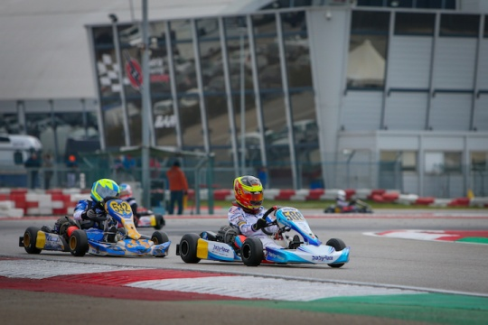 Plenty of experience for Tom Braeken in the WSK Champions Cup
