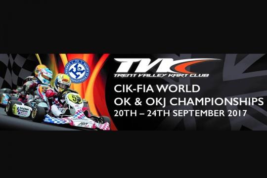 2017 CIK-FIA World OK & OKJ Championship - €1000 Up For Grabs For Highest Placed UK Drivers!