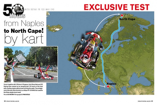 From Naples to Cape Nord by a Rotax MAX Evo!