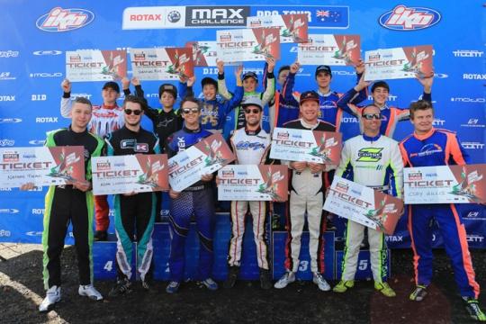 2016 Rotax Max Australian Pro Tour,  Puckapunyal - Round 6, August 28 2016