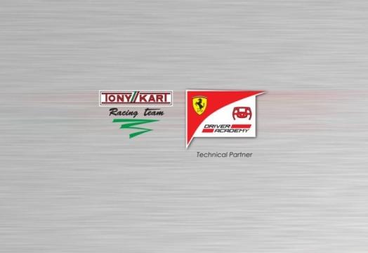Tony Kart Racing Team and Ferrari Driver Academy present their technical partnership
