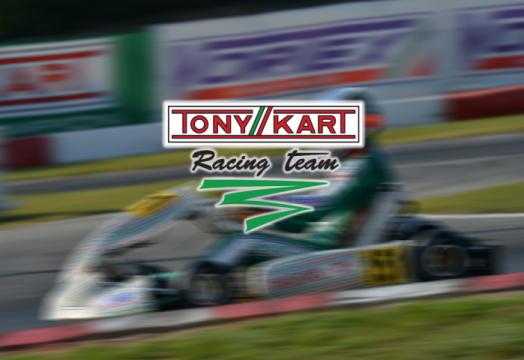 The drivers and races for the Tony Kart Racing Team 2019 season