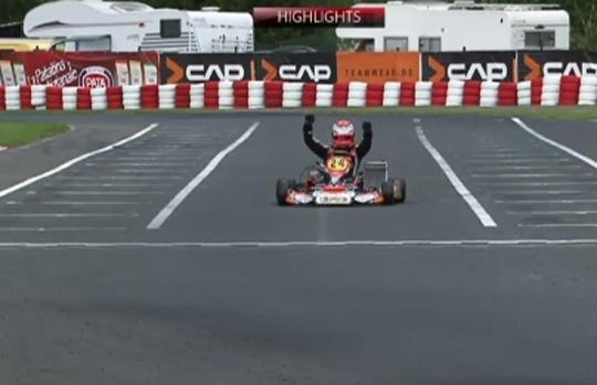 KZ – Final. Verstappen from another planet