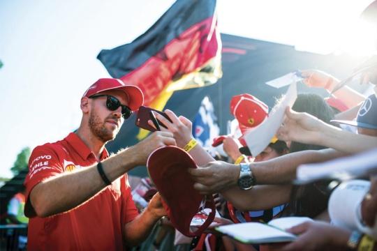 "Sebastian Vettel: ""Karting costs too much!"""