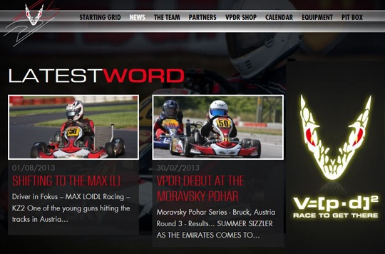 New website for VPD Racing