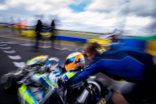 Van Hoepen returns to the track in Genk