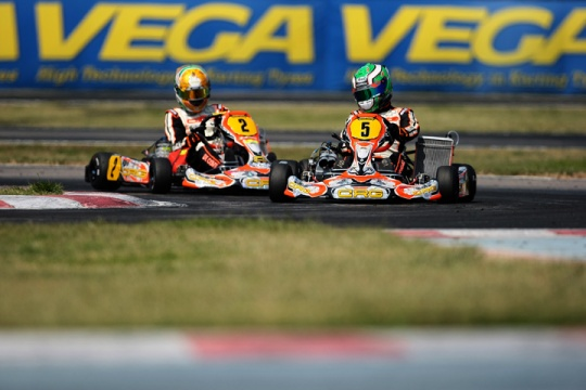 CRG shining in La Conca's  WSK Super Master Series