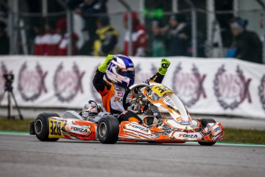 2019 starts with a 1-2 finish in the WSK Champions Cup