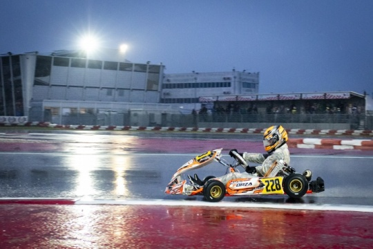 Team competitive but unlucky in first race of WSK Super Master Series