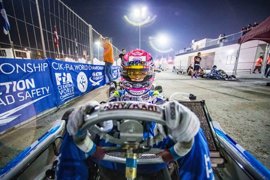 CIK-FIA Junior World Championship - Noah Watt injured
