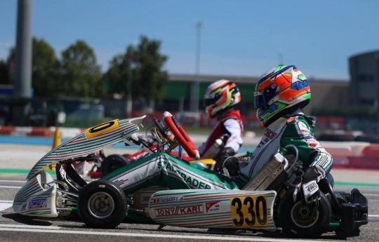 Tough but positive the debut of Stadsbader in KZ2