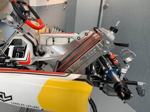 New Line cools the Leclerc karts