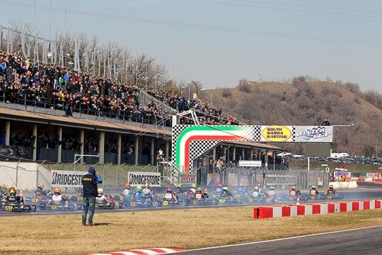 The 22nd Winter Cup full of drivers