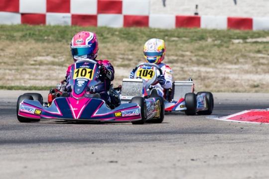 CIK-FIA European Championship OK - OKJ - KZ2 in Adria (Italy)