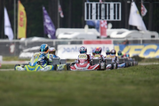"""Cloudy"" weekend for van Hoepen in Genk"