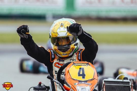 CIK-FIA European Championship, Oviedo - KZ final