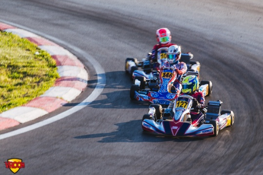 CIK-FIA OK European Championship, Sarno – Saturday report