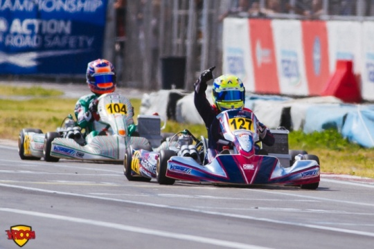CIK-FIA OK European Championship, Sarno – final race report