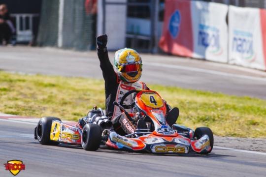 CIK-FIA KZ European Championship, Sarno – final race report