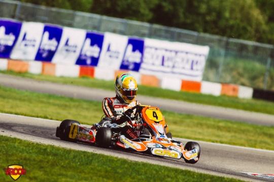 CIK-FIA European KZ & KZ2 Championship, Academy Trophy - Saturday heats