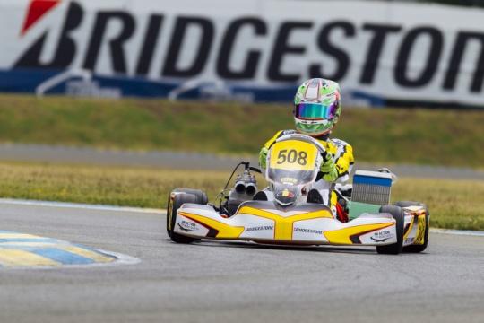 CIK-FIA European Championships, Le Mans - Academy final