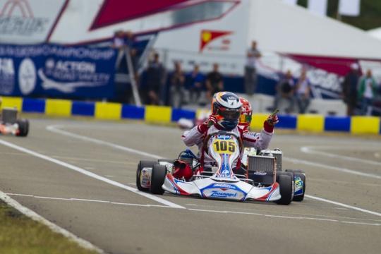 CIK-FIA European Championships, Le Mans - OK final