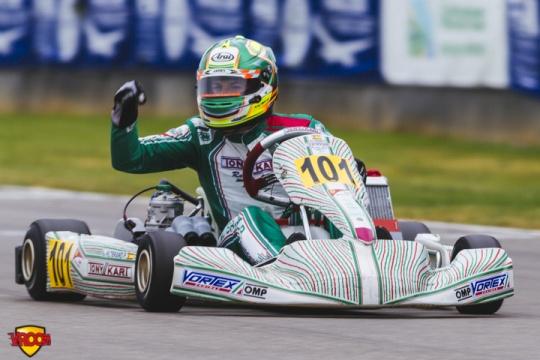 CIK-FIA European Championship, Oviedo - OK final