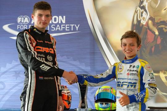Verstappen and Norris get their European crowns in Italy