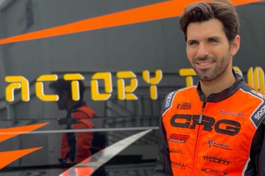 Jaime Alguersuari will have to miss the 1st round of the KZ European Championship