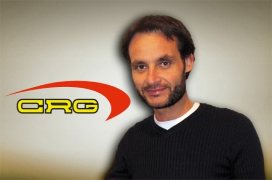 Marco Angeletti is CRG's new marketing manager