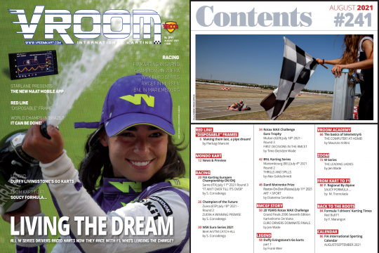 Vroom International August 2021 out now!
