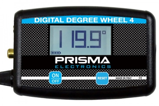 Prisma Electronics launch the new Digital Degree Wheel 4