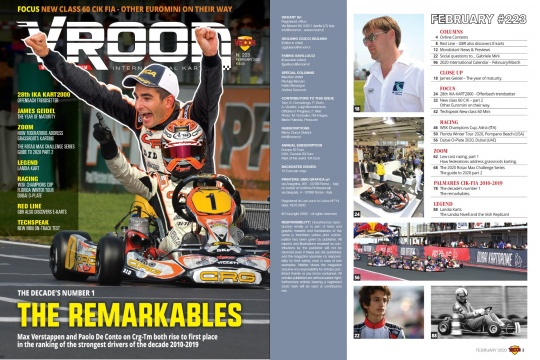 Vroom International February 2020 out now!