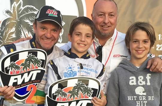Barrichello to take on the FWT grids