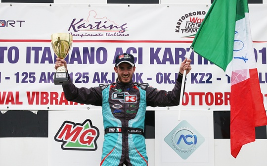 Great last round of the Italian ACI Karting Championship in Val Vibrata