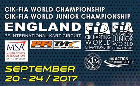 OK and OKJ drivers ready for the CIK-FIA World Championship
