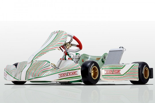 Tony Kart presents 2017 chassis