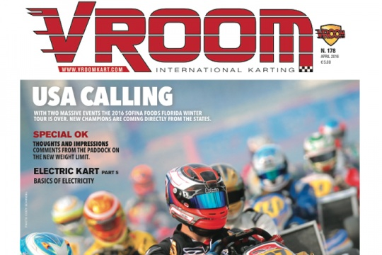Vroom International April 2016 out now!